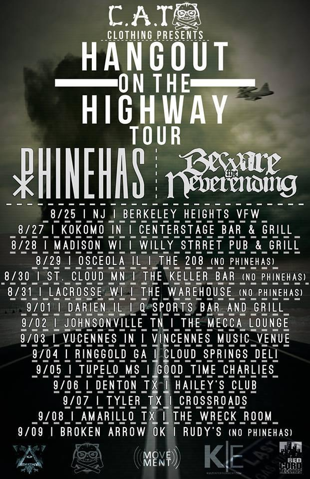 Beware the Neverending and Phinehas's 'Hangout on the Highway' Tour