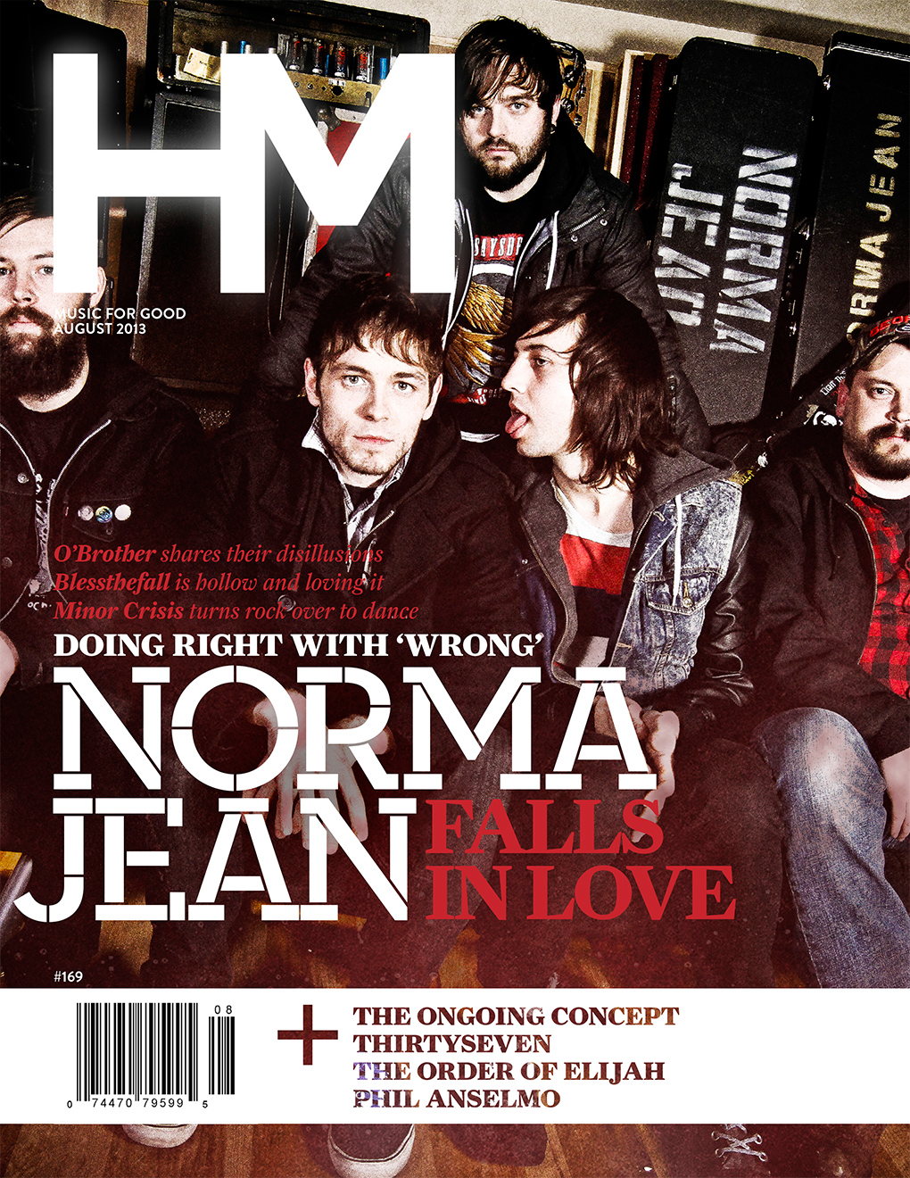 The August 2013 issue of HM Magazine